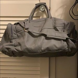 Genuine leather travel or gym bag. Perfect shape